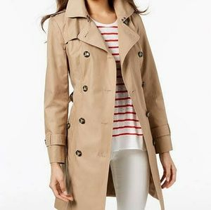 JCrew double breast trench